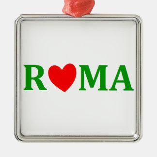 Rome Eternal City Metal Ornament