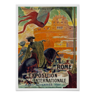 Rome ~ Exposition Internationale 1911 Print