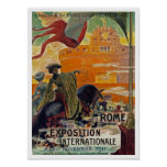 Rome ~ Exposition Internationale 1911 Print