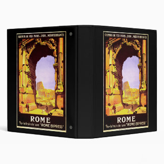 Rome Express Binder