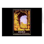 Rome Express Greeting Card