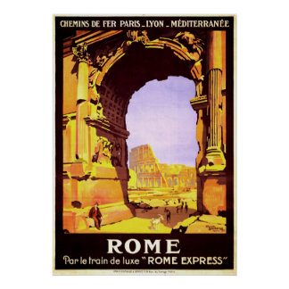 Rome Express Posters