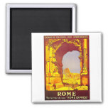 Rome Express Railway Vintage Italy Travel Refrigerator Magnets
