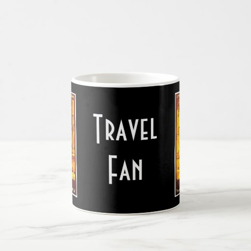 Rome Express Railway Vintage Italy Travel Coffee Mug