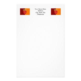 Rome Flag Customized Stationery