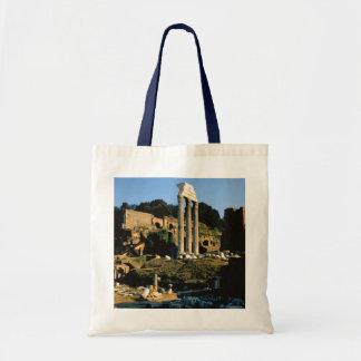 Rome Foro Romano 1956 Canvas Bags