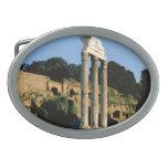 Rome, Foro Romano, 1956 Oval Belt Buckle