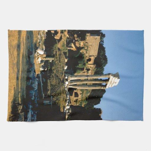 Rome, Foro Romano, 1956 Towel