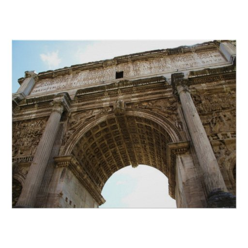 Rome - Forum - Arch of Titus POSTER