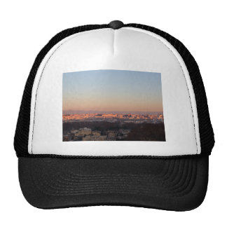 Rome from Gianicolo panorama at sunset Trucker Hat