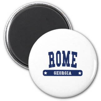 Rome Georgia College Style tee shirts 2 Inch Round Magnet