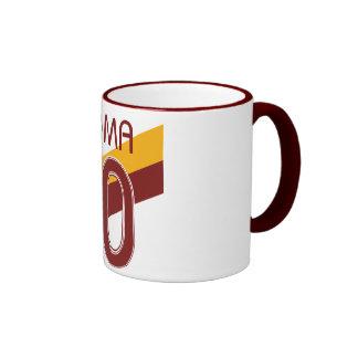 Rome Giallorossa Coffee Mugs