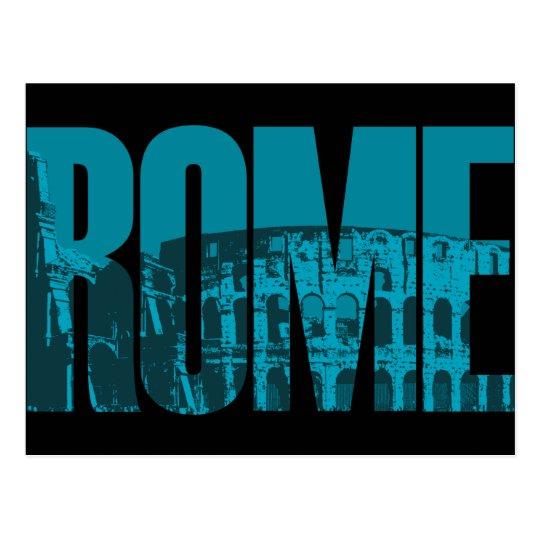 Rome Graphic Postcard