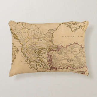 Rome, Greece, Turkey 2 Accent Pillow