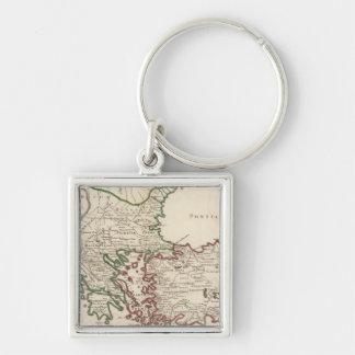 Rome, Greece, Turkey 3 Key Chains