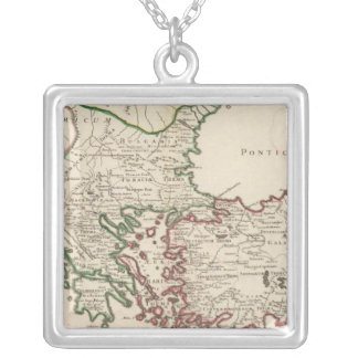 Rome, Greece, Turkey 3 Personalized Necklace