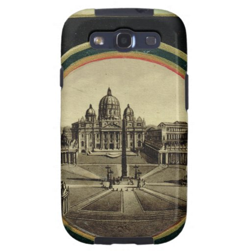 Rome, guide book cover 1900 samsung galaxy s3 case