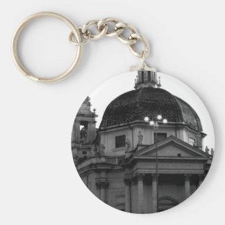 Rome Historical Travel Keychain
