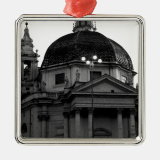 Rome Historical Travel Metal Ornament