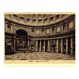 Rome, Inside the Pantheon Postcard