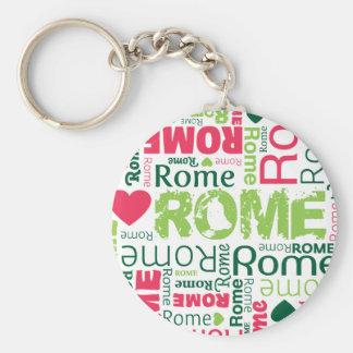 Rome italian souvernir keychain