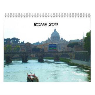Rome Italy 2017 Calendar