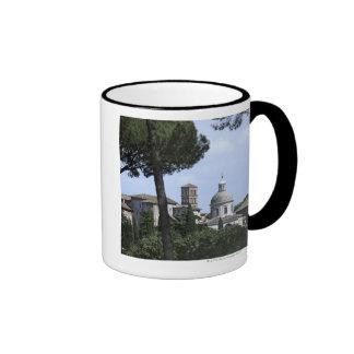 Rome, Italy 3 Ringer Coffee Mug