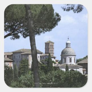Rome, Italy 3 Square Sticker