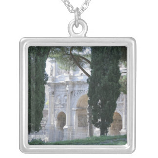 Rome, Italy 4 Silver Plated Necklace
