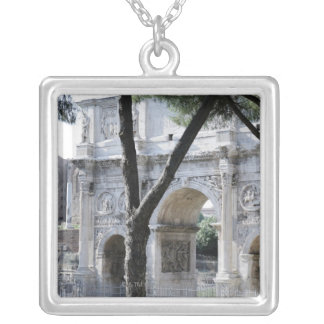 Rome, Italy 5 Silver Plated Necklace