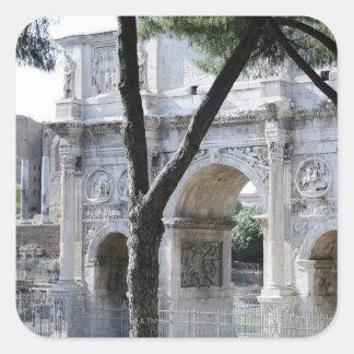 Rome, Italy 5 Square Sticker