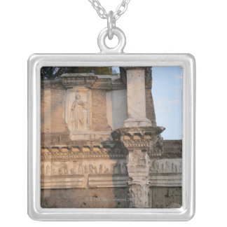 Rome, Italy 6 Silver Plated Necklace
