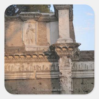 Rome, Italy 6 Square Sticker