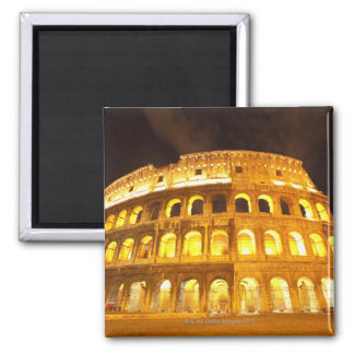 Rome, Italy 8 2 Inch Square Magnet