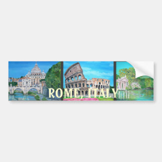 Rome, Italy - Bumper Sticker