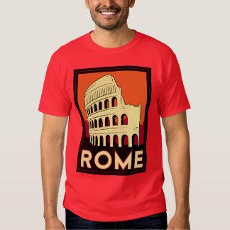 rome italy coliseum europe vintage retro travel T-Shirt