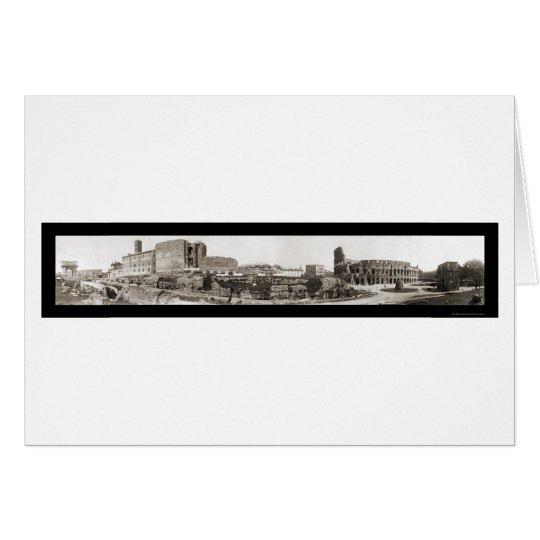 Rome, Italy Coliseum Photo 1909 Card