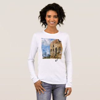 Rome Italy Colosseum Clothing Long Sleeve T-Shirt