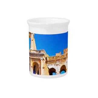 Rome, Italy - Colosseum Beverage Pitcher