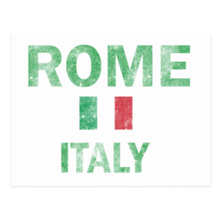 Rome Italy Designs Postcard
