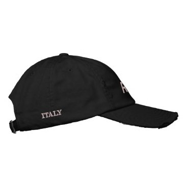 ROME ITALY EMBROIDERED BASEBALL HAT