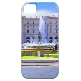 Rome, Italy - Fountain roundabout outside Piazza d iPhone SE/5/5s Case