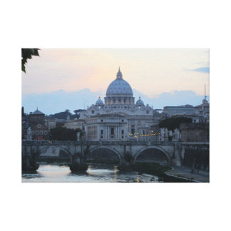 Rome, Italy Gallery Wrapped Canvas