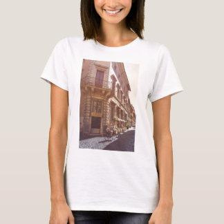 Rome Italy Italian Grocery Getter Bike Cobblestone T-Shirt