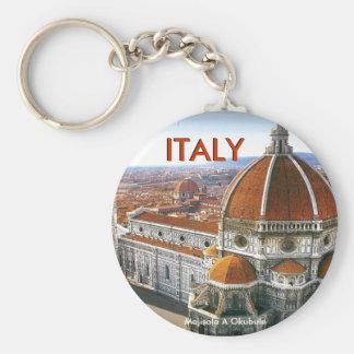 ROME , ITALY (Mojisola A Gbadamosi Okubule) Basic Round Button Keychain