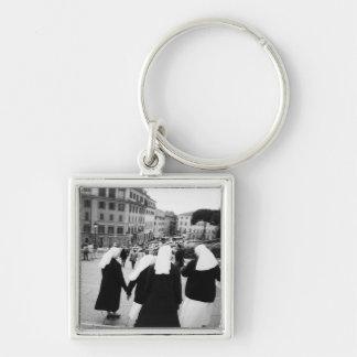 Rome Italy, Nun Patrol! (NR) Keychain
