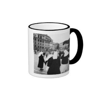 Rome Italy Nun Patrol NR Mugs