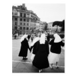 Rome Italy, Nun Patrol! (NR) Post Card