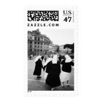 Rome Italy, Nun Patrol! (NR) Postage