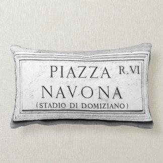 Rome, Italy - Piazza Navona Pillow